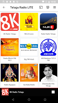 Telugu FM Radio HD - Podcast, Telugu Live News pc screenshot 1