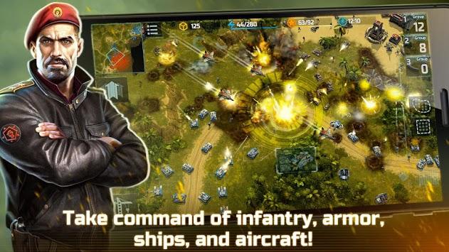 Art of War 3: PvP RTS modern warfare strategy game pc screenshot 1