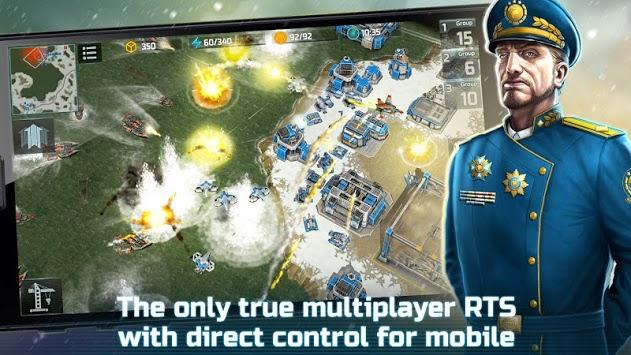 Art of War 3: PvP RTS modern warfare strategy game pc screenshot 2