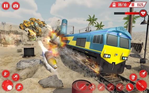 Real Train Robot Transformation 2019 pc screenshot 1