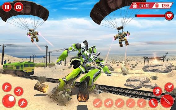 Real Train Robot Transformation 2019 pc screenshot 2