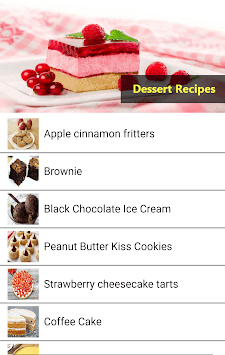 Easy Dessert Recipes pc screenshot 2