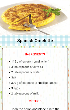 Homemade food recipes pc screenshot 1