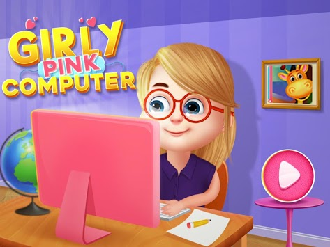 Princess Pink Computer For Girls pc screenshot 1