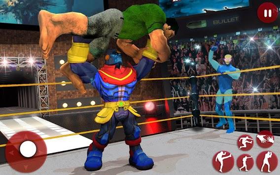Ultimate Superhero Fighting Club : Wrestling Games PC screenshot 1