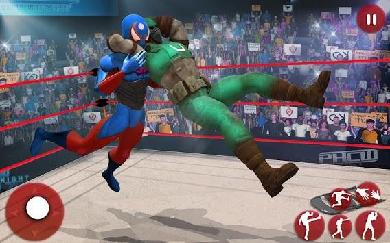 Ultimate Superhero Fighting Club : Wrestling Games PC screenshot 2