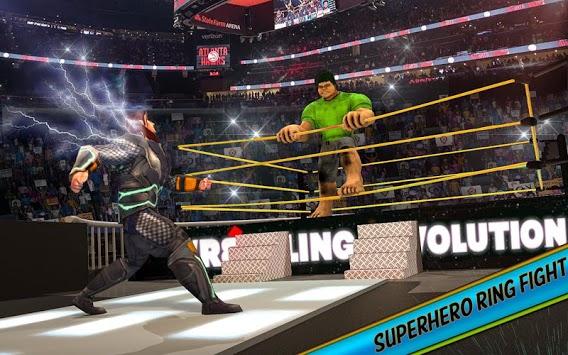 Ultimate Superhero Fighting Club : Wrestling Games PC screenshot 3