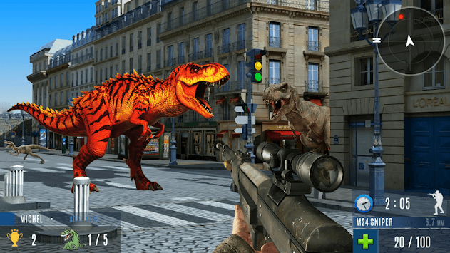 Dinosaur Hunting 2019: Dinosaur Games pc screenshot 2