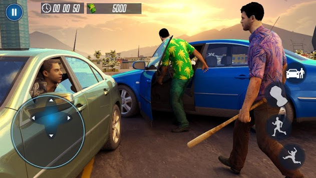 Grand City Gangster Story - Crime Car Drive pc screenshot 1