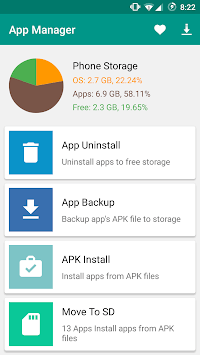 App Manager - Apk Installer pc screenshot 1