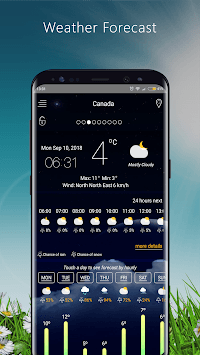 Weather Forecast apps - live Weather 2018 pc screenshot 2
