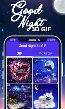 Good Night 3D GIF pc screenshot 1
