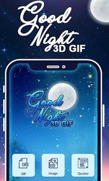 Good Night 3D GIF pc screenshot 2