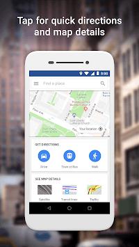 Google Maps Go - Directions, Traffic & Transit pc screenshot 1