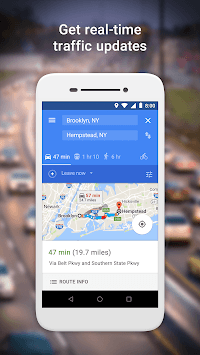 Google Maps Go - Directions, Traffic & Transit pc screenshot 2