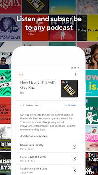 Google Podcasts pc screenshot 1