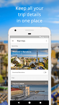 Google Trips - Travel Planner pc screenshot 1