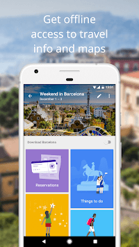 Google Trips - Travel Planner pc screenshot 2