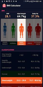 BMI Calculator pc screenshot 1