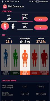 BMI Calculator pc screenshot 2