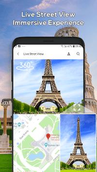 Live Street View 360 - GPS Maps Navigation & Route pc screenshot 1