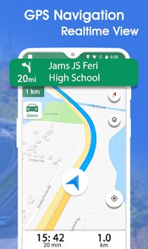 GPS Maps Navigation - Driving Route Planner Free pc screenshot 1