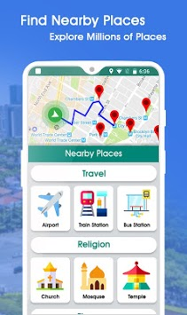 GPS Maps Navigation - Driving Route Planner Free pc screenshot 2