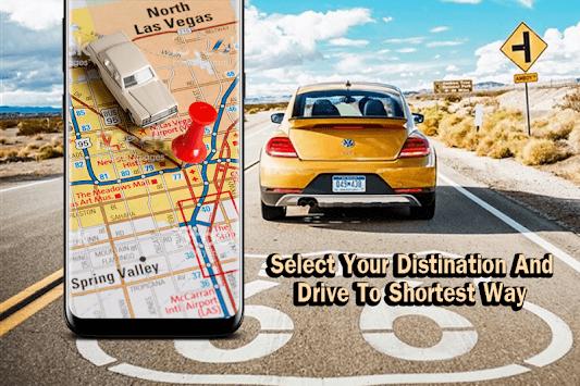 GPS Map Navigation, Voice GPS Driving Directions pc screenshot 1