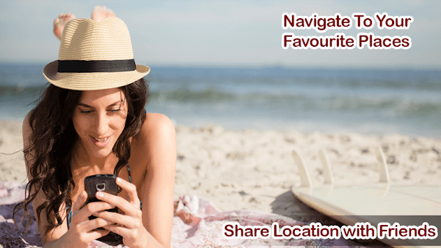 GPS Navigation Tracker plus Voice Directions pc screenshot 1