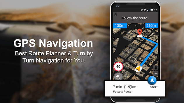 Live GPS Maps & Navigation 2019: GPS Driving Guide pc screenshot 1
