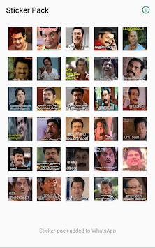 Malayalam Stickers for whatsapp pc screenshot 1