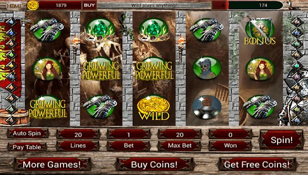 Grave of Thrones - The Four Houses Slots pc screenshot 1