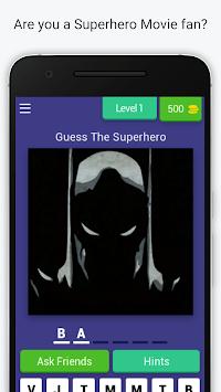 Guess the Superhero - Marvel Superhero Trivia Quiz pc screenshot 1
