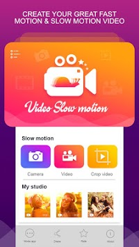 Slow motion Video pc screenshot 1