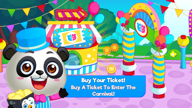 Panda Panda Funfair Party pc screenshot 1