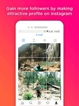 Grid Photo Maker for Instagram pc screenshot 1