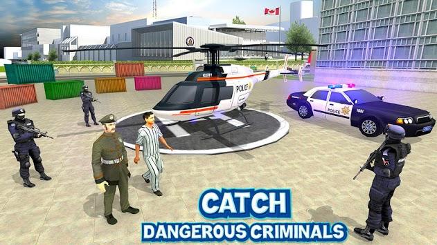 US City Police Car Prisoners Transport pc screenshot 1