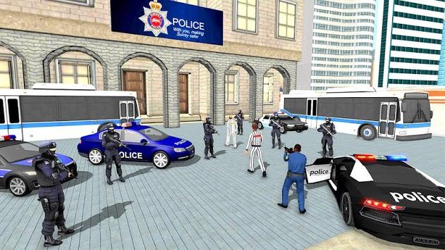 US City Police Car Prisoners Transport pc screenshot 2