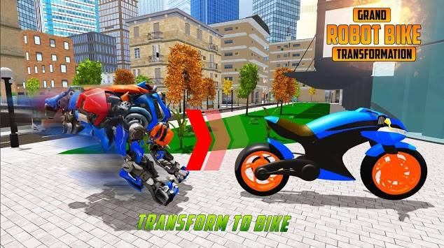 US Robot Bike Transform Shooting Game pc screenshot 1
