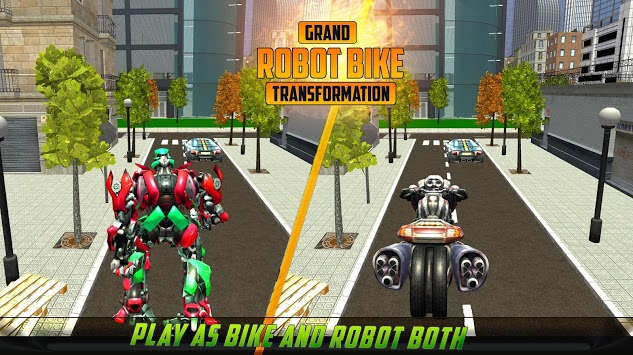 US Robot Bike Transform Shooting Game pc screenshot 2