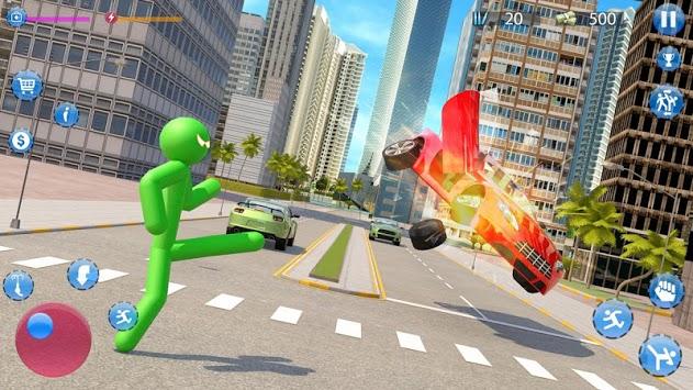 Green Hero Stickman Criminal Mafia pc screenshot 1
