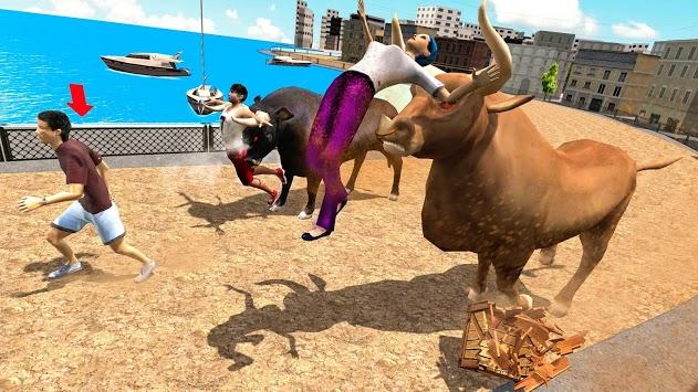 Angry Bull Attack Wild Hunt Simulator pc screenshot 1