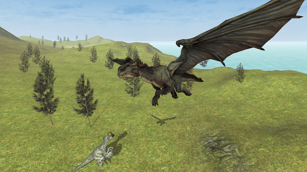Flying Fury Dragon Simulator pc screenshot 1