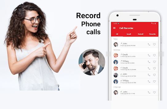 Easy Call Recorder - Automatic call recorder pc screenshot 1