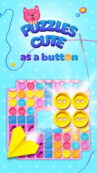 Button Cat: match 3 cute cat puzzle games pc screenshot 1