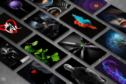 Black Wallpapers - 4K Dark & AMOLED Backgrounds pc screenshot 1