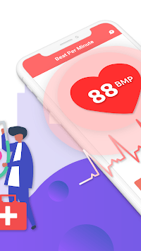 Heart Rate Monitor – Simple Heartbeat Tracking pc screenshot 2