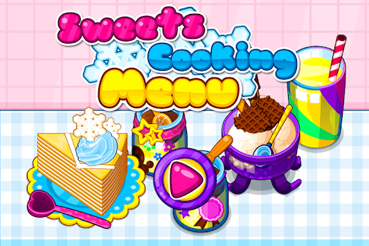 Sweets Cooking Menu pc screenshot 1