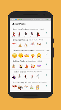 New Year Stickers for Whatsapp (WAStickerApps) pc screenshot 2