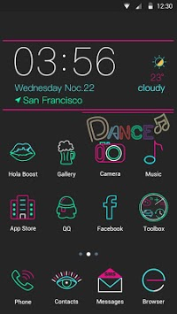 Dance - Hola Theme pc screenshot 1